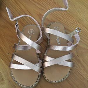 NWOT Cat & Jack sandals